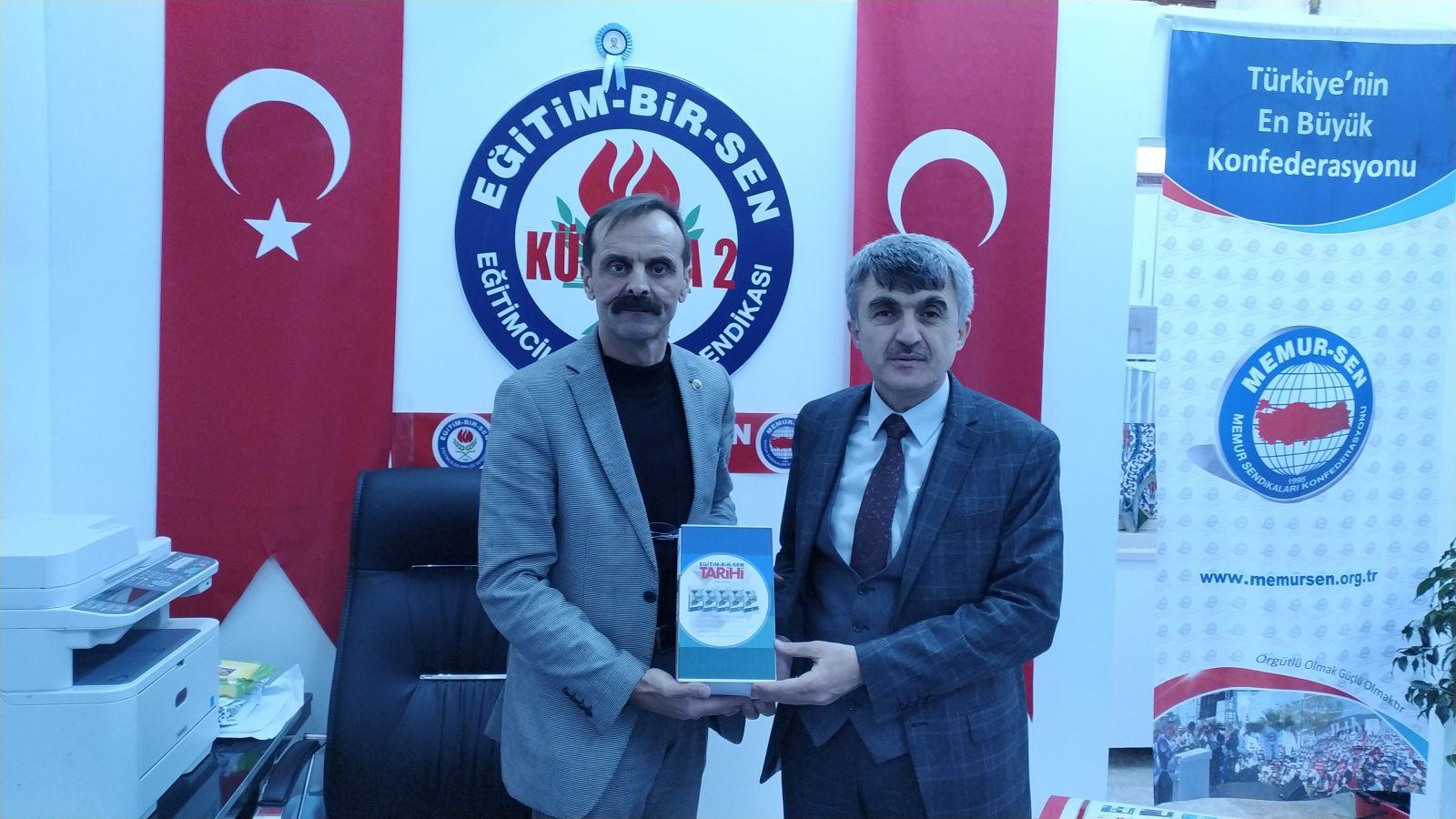 Kütahya Dumlupınar Üniversitesi Rektörü Prof. Dr. Kâzım Uysal'dan Şubemize Ziyaret
